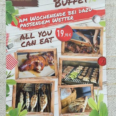 Haus Henkenberg: Spanferkel Grill Buffet