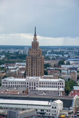 View of Riga from St Peter's Church Tower: Cмотровые площадки