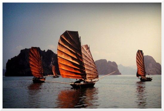 Vintage Junks: Sails of Indochina