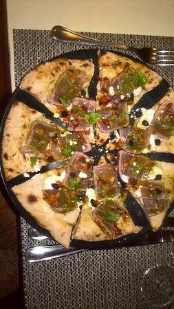 Villa Cefala: Pizza gourmet