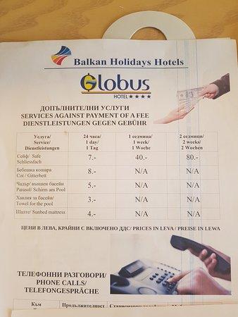 Bilde fra Globus Hotel