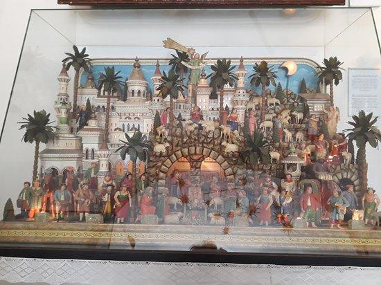 Museum of Nativity Scenes: krásné staré betlémy