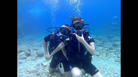 Rodos Diving Center: Smiling