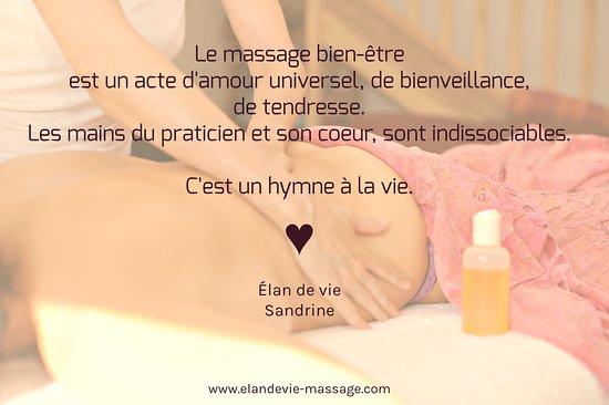 Citation Sur Les Bienfaits Du Massage Picture Of Elan De