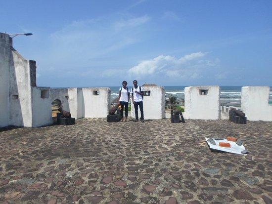 Beyin, Ghana: Apollonia Fort - Benyin