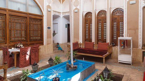 ‪‪Tehran Province‬, إيران: labe khandagh traditional house yazd‬