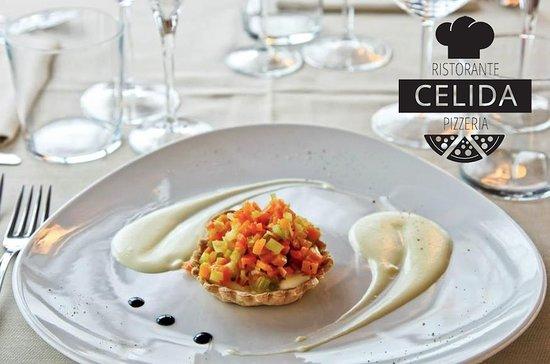 Basiliano, อิตาลี: Crostatina alle Verdure e crema di montasio