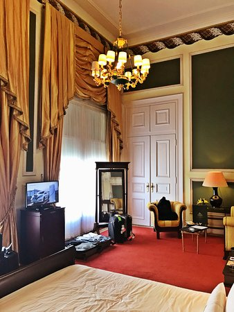 Hotel Avenida Palace: The Presidential Suite of the Avenida Palace Hotel, Lisbon, Portugal by Jeremiah Christopher