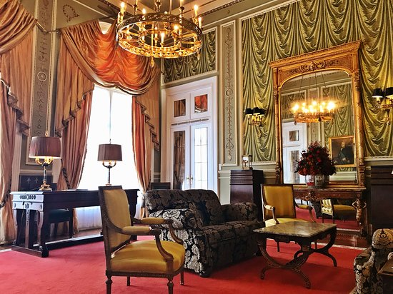 Hotel Avenida Palace: Salon of the Presidential Suite of the Avenida Palace Hotel, Lisbon, Portugal by Jeremiah Christopher