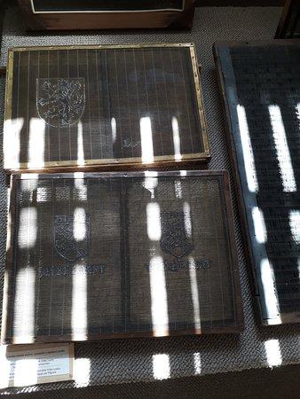 Handmade Paper Mill Velke Losiny: formy
