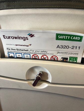 Eurowings: Safety Card