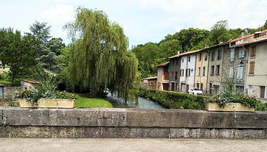 Belesta , the village