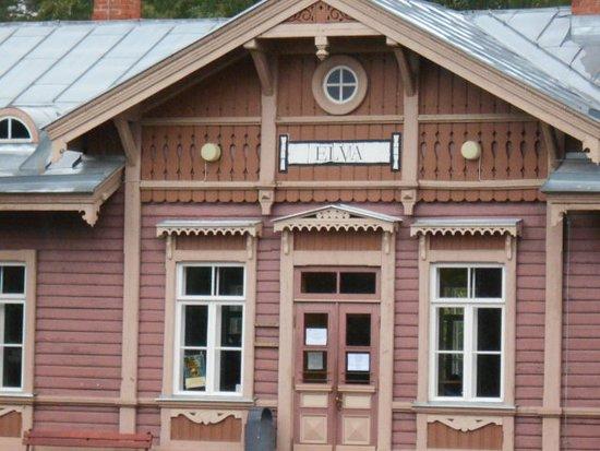 ELVA  Järnvägsstation.