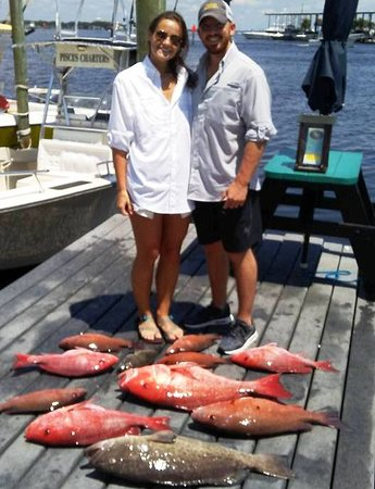 Pisces Charters: Good Day Fishing.