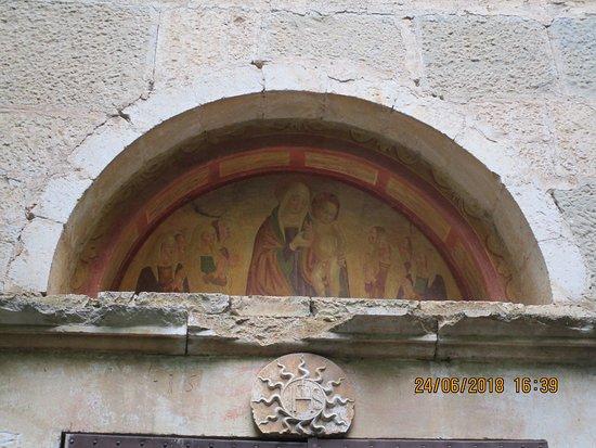 Paganica, Italie : lunetta esterna laterale