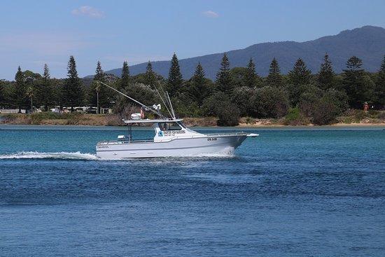 Batemans Bay, Australia: A yacht boat