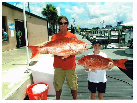 Pisces Charters: Big Red snapper