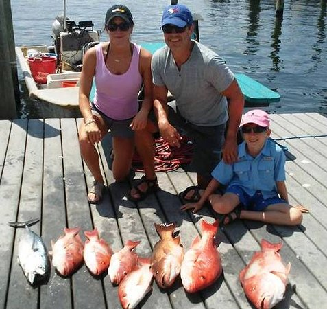 Pisces Charters: opening day for 2018 Snapper season