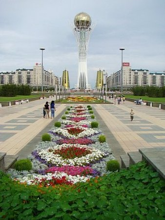 Astana Allee: центр