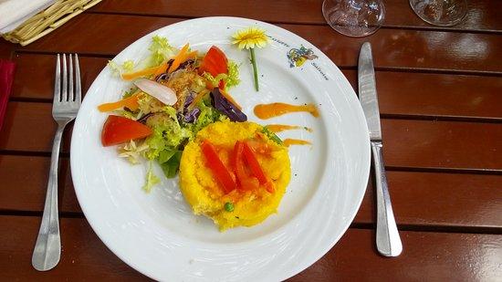 L'Assiette Saltoise: entrée spéciale vegan