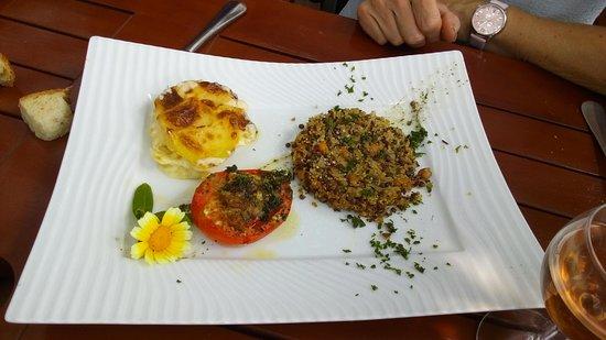 L'Assiette Saltoise: plat spécial vegan