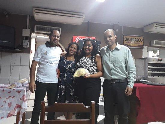 Belford Roxo, RJ: Jantar de Casais da IMW em Parque São Vicente