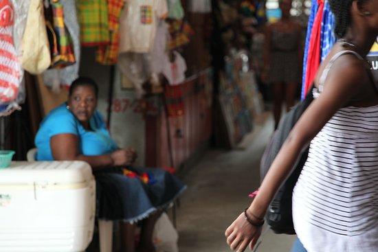 Castries Market: Castries marché