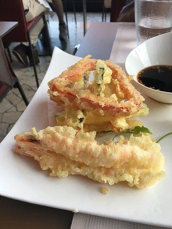 Yang Sushi & Fusion: tempura misto