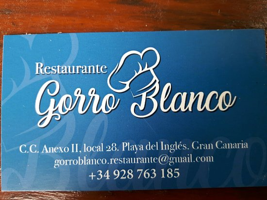 Gorro Blanco照片