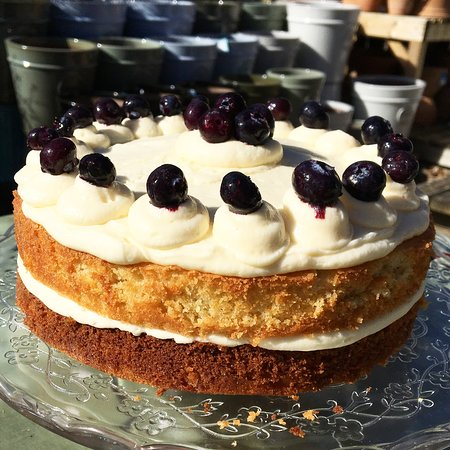The Stable Yard: Lemon and Blueberry Cake