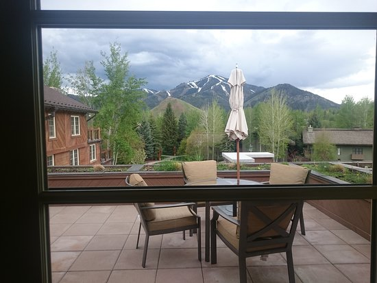 Sun Valley Lodge: terrace