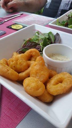 Globe Trotter S Cafe: les beignets de calamars
