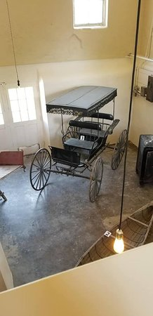 Fort Totten, ND: Covered buggy