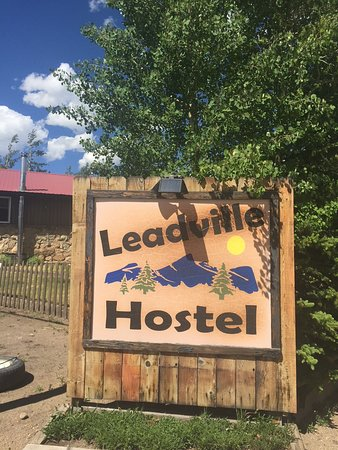 Inn the Clouds - Leadville's Hostel & Inn: The hostel is easy to find, and close to the downtown area.