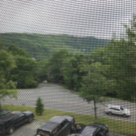 Four Seasons at Beech: View from our room on 3rd floor and inside our studio