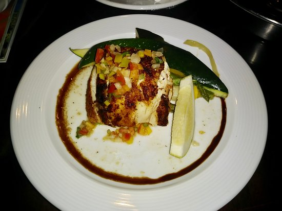 Secrets St. James Montego Bay: Snapper and veggies room service
