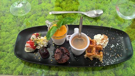Lambersart, Γαλλία: café gourmand