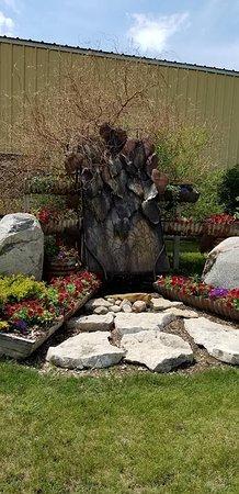 Carrington, Βόρεια Ντακότα: Another sculpture