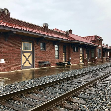 Bilde fra Mena Kansas City Southern Depot