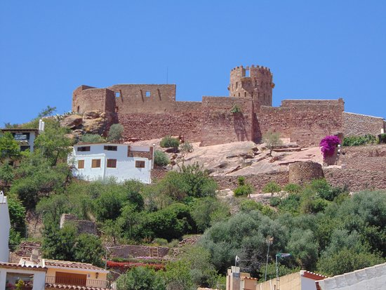 Castillo de Vilafames: Vista exterior del Castillo