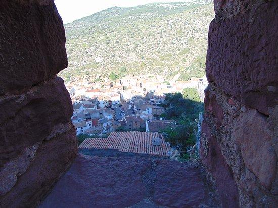 Castillo de Vilafames: Otro vista desde la ventanas del castillo