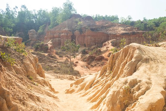 Garbeta, Ấn Độ: Gangoni-The Grand Canyon of Bengal