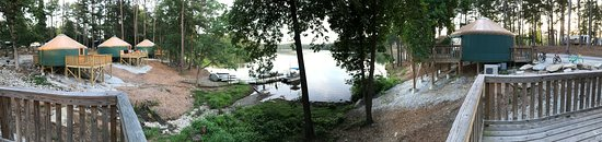 Stone Mountain Family Campground: Back Deck Panoramic View