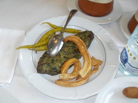 La cuina de l Hostal Dolcet: Trinxat de la Cerdanya.