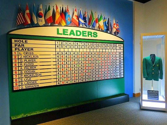 World Golf Hall of Fame: inside hall of fame