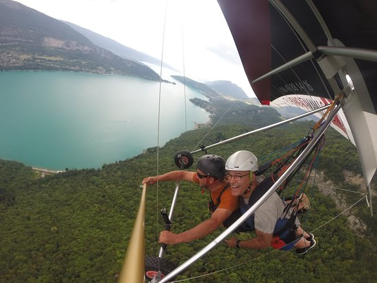 Annecy Aventure: My husband's experience.