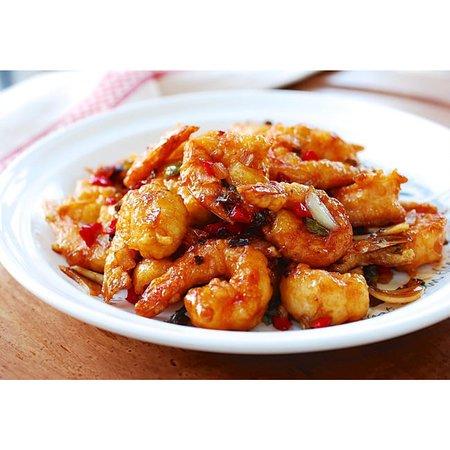 Namaste Bistro: Shrimp Chilly