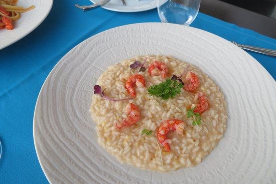 Tramonto d'Oro Restaurant: Shrimp risoto