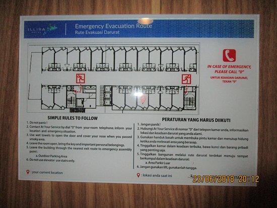 Floor Map - Picture of Illira Hotel, Banyuwangi - TripAdvisor