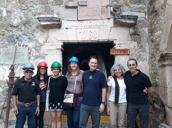 Escuela Mexicana: TOUR TO MINA DE VALENCIANA